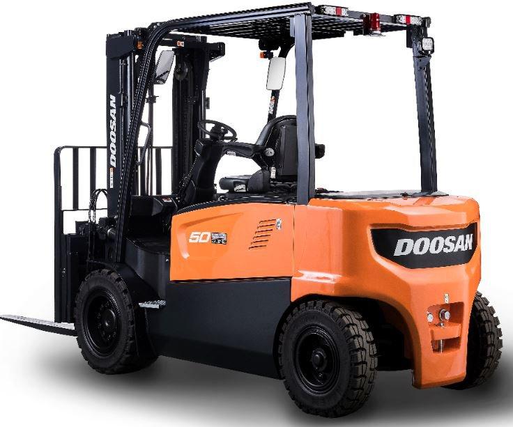 DOOSAN B40/45/50X-5 elektromos homlokvillás targonca