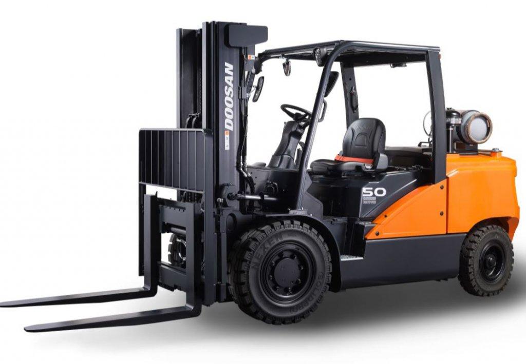 DOOSAN G40/G45/G50/G55S-7 gázüzemű homlokvillás targonca